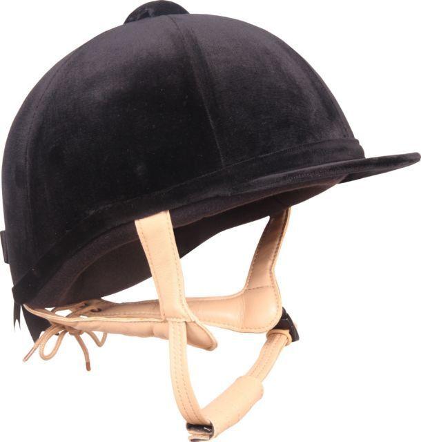 CHAMPION Ventair GRe PRIX Equitazione Cappello Nero 54cm (6 5 8)
