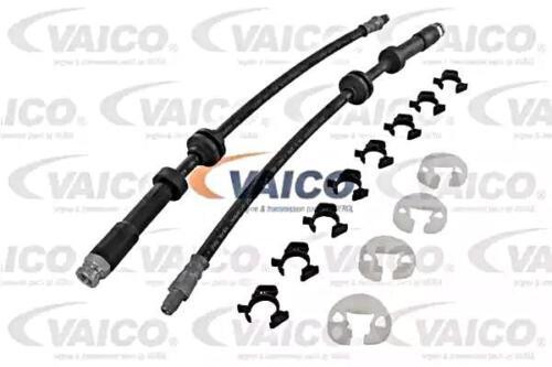 VAICO FRONT RIGHT Brake Hose Line x2 pcs For ALFA ROMEO FIAT Marea LANCIA 89-10