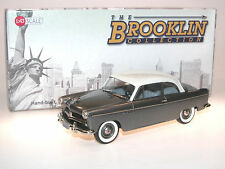Brooklin Models BRK 217, 1954 Willys Aero Ace 2-Door Sedan, grey/white, 1/43