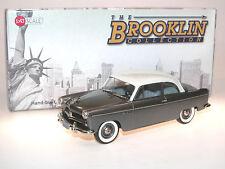 Brooklin Models BRK 217, 1954 Willys Aero Ace 2-Door Sedan, grey/white, 1/43