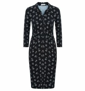 Hobbs-Anna-Black-Ivory-Shirt-Dress-Various-Sizes-RRP-89-NEW-WITH-TAGS