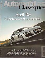 AUTOMOBILES CLASSIQUES 163 AUDI R8 S5 AMG CL 65 MERCEDES 300SL ROADSTER FIAT 500
