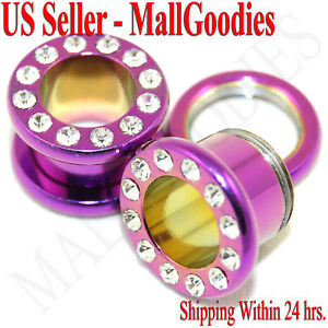 0974-Pink-Screw-on-CZ-Tunnels-00-Gauge-00G-Plugs-10mm