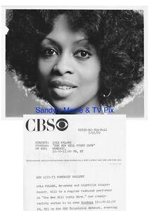 Lola Falana Terrific Original Tv Photo The New Bill Cosby Show Ebay