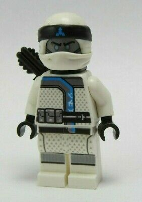 LEGO Ninjago Zane Ninja Minifigure 70639 Mini Fig Sons of Garmadon