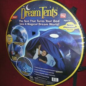 Dream Tents Space Adventure Twin Size Pop Up Bed Tent As