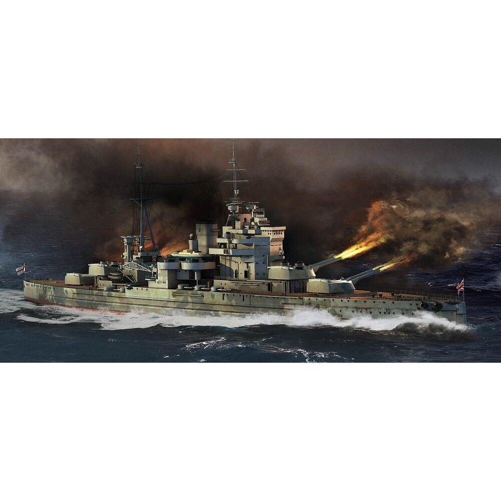 Trumpeter 1 700 - Hms Queen Elizabeth 1918 Battleship - 1700 1941 Class 05794