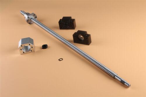 BK//BF 12 Support UZ 1set Module SFU1605-1500mm CNC RM 1605 écrou Boîtier