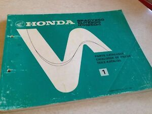 Honda-Teile-Liste-Roller-Spacy-Elite-250-CH250-CH250F-Ch-Edition-1-1984