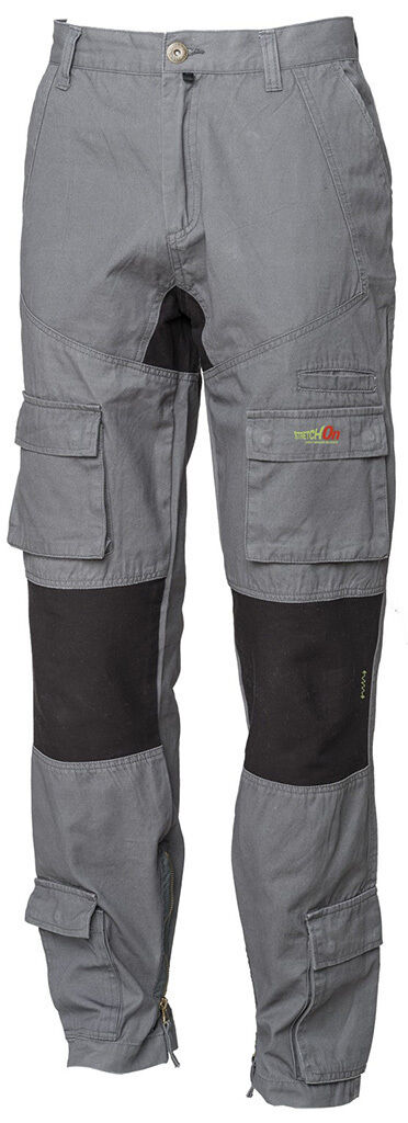 Pantaloni pantalone lavoro multi tasche tasche tasche ISSA LINE 8738 Stretch On colore grigio ef69e8