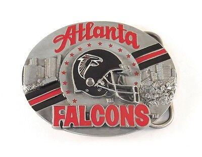 NFL Pewter Belt Buckle Atlanta Falcons NEW