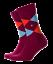 Burlington Uomo 1 Paia Mix Di Cotone King Argyle Socks 6.5-11 rubino LOTUS - 8372