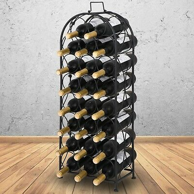 Holds 23 Bottles of Wine Sorbus Bordeaux Chateau Wine Rack French Style