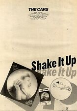 6/2/1982Pg16 Album Advert 15x10 The Cars, Shake It Up