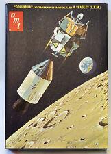 Vintage AMT 1:200 Apollo Spacecraft COLUMBIA Module & EAGLE L.E.M. Model Kit
