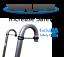 Trampoline-Ladder-3step-2step-Slide-or-Rock-Waller-Climber thumbnail 5