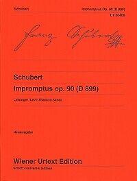 SCHUBERT IMPROMPTUS Op90 D899 Badura-Skoda Piano