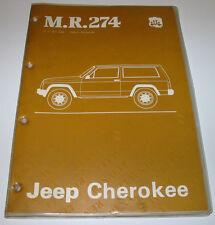 Werkstatthandbuch Jeep Cherokee Motor Kupplung Getriebe Achsen Bremsen Klima!