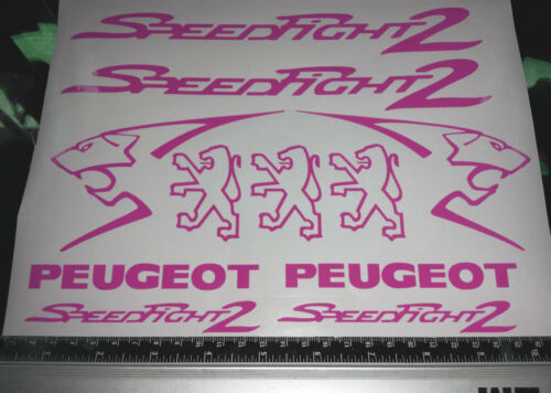 Speedfight 2 Decals//Stickers ALL COLOURS AVAILABLE