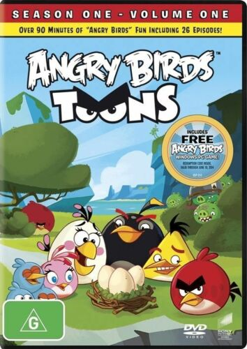 1 of 1 - Angry Birds Toons : Season 1 Vol 1 (DVD, 2013)  R4 PAL NEW & SEALED FREE POST