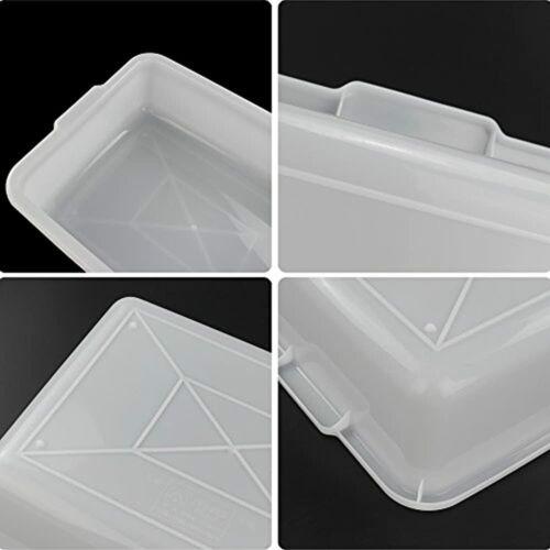 Plastic Tub//Wash Basin Morcte 3-Pack Commercial Bus Box White Industrial /&
