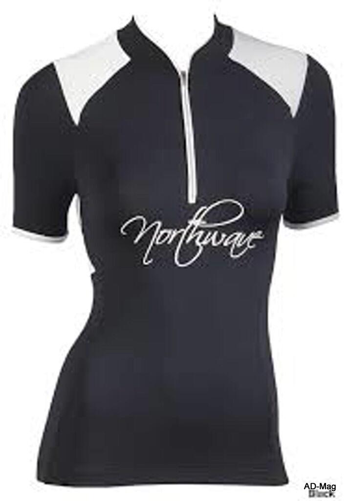 Maillot de Vélo Femme - NORTHWAVE 89131101 - Venus Jersey black - T. M - NEUF