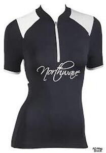 Maillot-de-Velo-Femme-NORTHWAVE-89131101-Venus-Jersey-Noir-T-M-NEUF