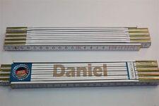 Zollstock mit Namen     DANIEL    Lasergravur 2 Meter Handwerkerqualität