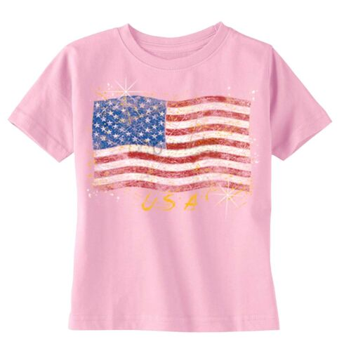 American Flag distressed 4th of July T-shirt Clothing USA Shirt Toddler Youth