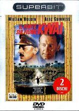 IL PONTE SUL FIUME KWAI (2 dischi) DVD Edizione Superbit NEW SIGILLATO