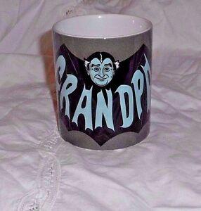 Image Is Loading Grandpa Munster Coffee Tea Mug New Licensed Standard