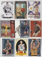 JERRY WEST 10 Card 1 Insert Basketball Lot NBA LOS ANGELES LAKERS Legend