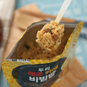 Easy cook korean food spicy curry bibimbap mre emergency just pour image is loading easy cook korean food spicy curry bibimbap mre forumfinder Images