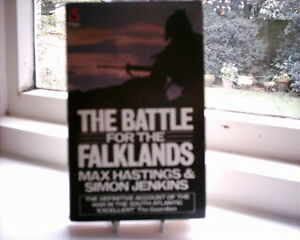 THE BATTLE FOR THE FALKLANDSThe definitive Max Hastings amp Simon Jenkins account - Bournemouth, Dorset, United Kingdom - THE BATTLE FOR THE FALKLANDSThe definitive Max Hastings amp Simon Jenkins account - Bournemouth, Dorset, United Kingdom