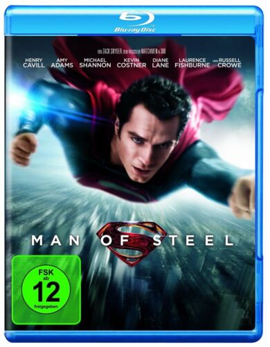 Blu-ray * Man of Steel * NEU OVP * (Superman) * Kevin Costner, Russell Crowe
