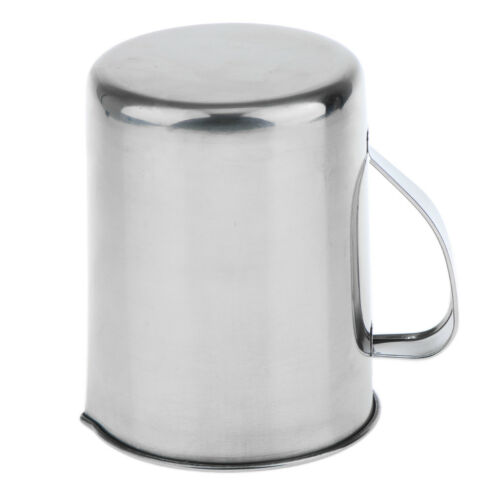 Measure Cup Jigger Pourer Frothing Pitcher 1000ml Stainless Steel Kitchen