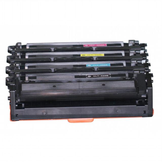 20x CLT-K506L CLT-M506L CLT-Y506L CLT-C506L Toner for Samsung CLP680 CLX6260