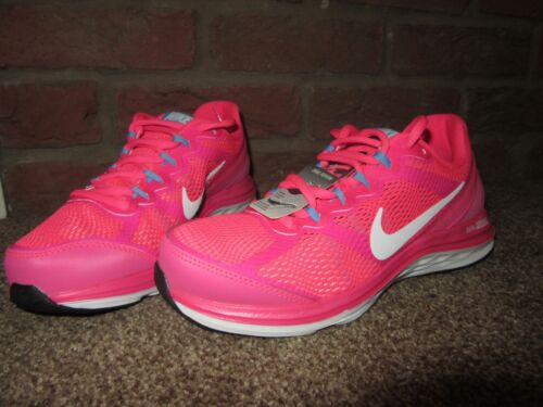 4 Womens Fusion 3 Dual Trainers Running Uk New Lace Nike Up Pink Lightweight 4w15nCqc