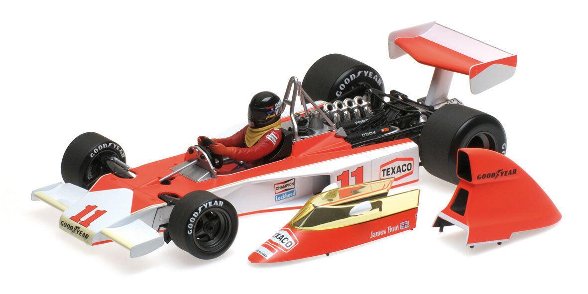 Minichamps McLaren McLaren McLaren M23 de Sudáfrica GP 1976-James Hunt 1 18 Escala a50fbf