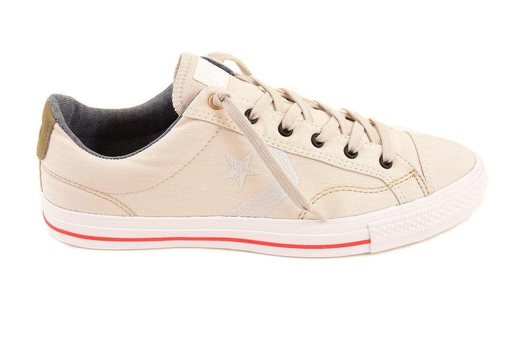 Converse Unisex Star Player OX 151309C Sneakers Mouse/Khaki UK 10 RRP £65 BCF86