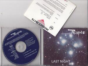 LESLIE MANDOKI'S PEOPLE Last Night CD EPI IAN ANDERSON AL DI MEOLA BOBBY KIMBALL