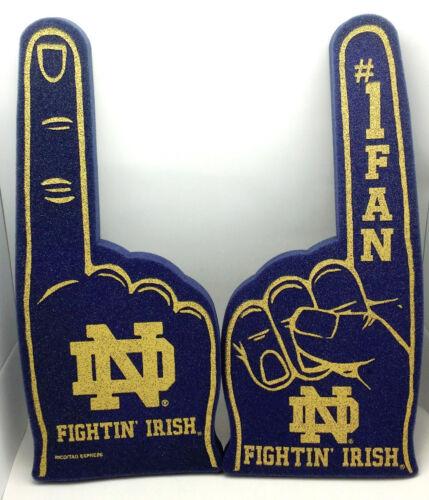 University of Notre Dame Foam #1 Fan Finger//Hand