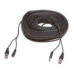 Videokabel-Stromkabel-fur-Uberwachungskamera-Video-BNC-Strom-Kabel-50-Meter