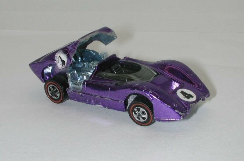 rojoline Hotwheels púrpura 1969 McLaren M6A oc15914