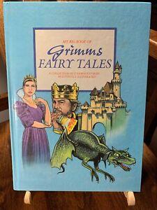 My-Big-Book-of-Grimm-039-s-Fairy-Tales-Vintage-Childrens-Hardback-Haddock