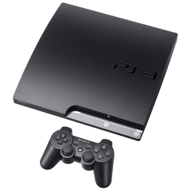 Sony PlayStation 3 Slim 160 GB Charcoal Black Console