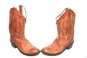5f118e2145e Old West Youth Corona Calfskin Cowboy Boot Round Toe - CCY1129G Sz 6 ...