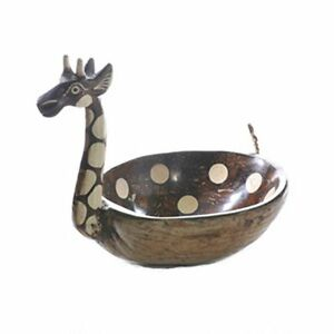 Painted Giraffe Bowl Giraffes Bowls Fruit Trinkets Gift Home Decor Ebay