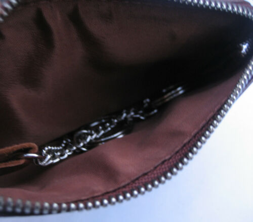 Quality Brown Leather Key Holder Purse Golunski 7-1242