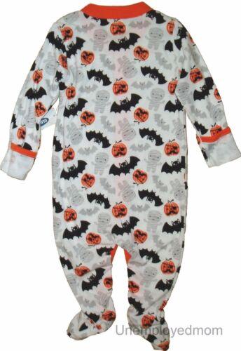 Halloween Sleep Play Boys Outfit Footie Sleeper Footed Girls Baby Holiday PJ